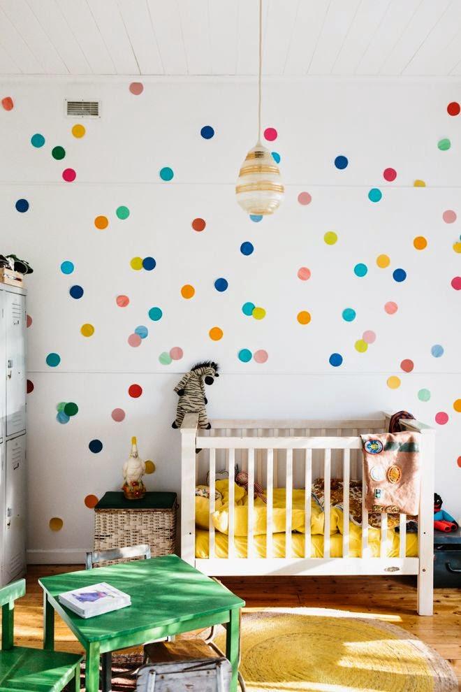 Decorar con papel pintado las habitaciones infantiles - Decorar habitaciones infantiles ...