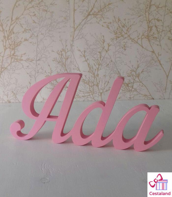 letras sobremesa Ada
