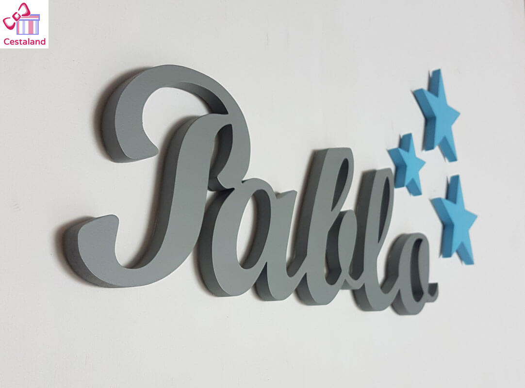 letras pared Pablo