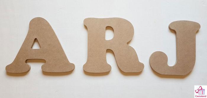 letras para decorar con fotos. Comprar Letras de madera