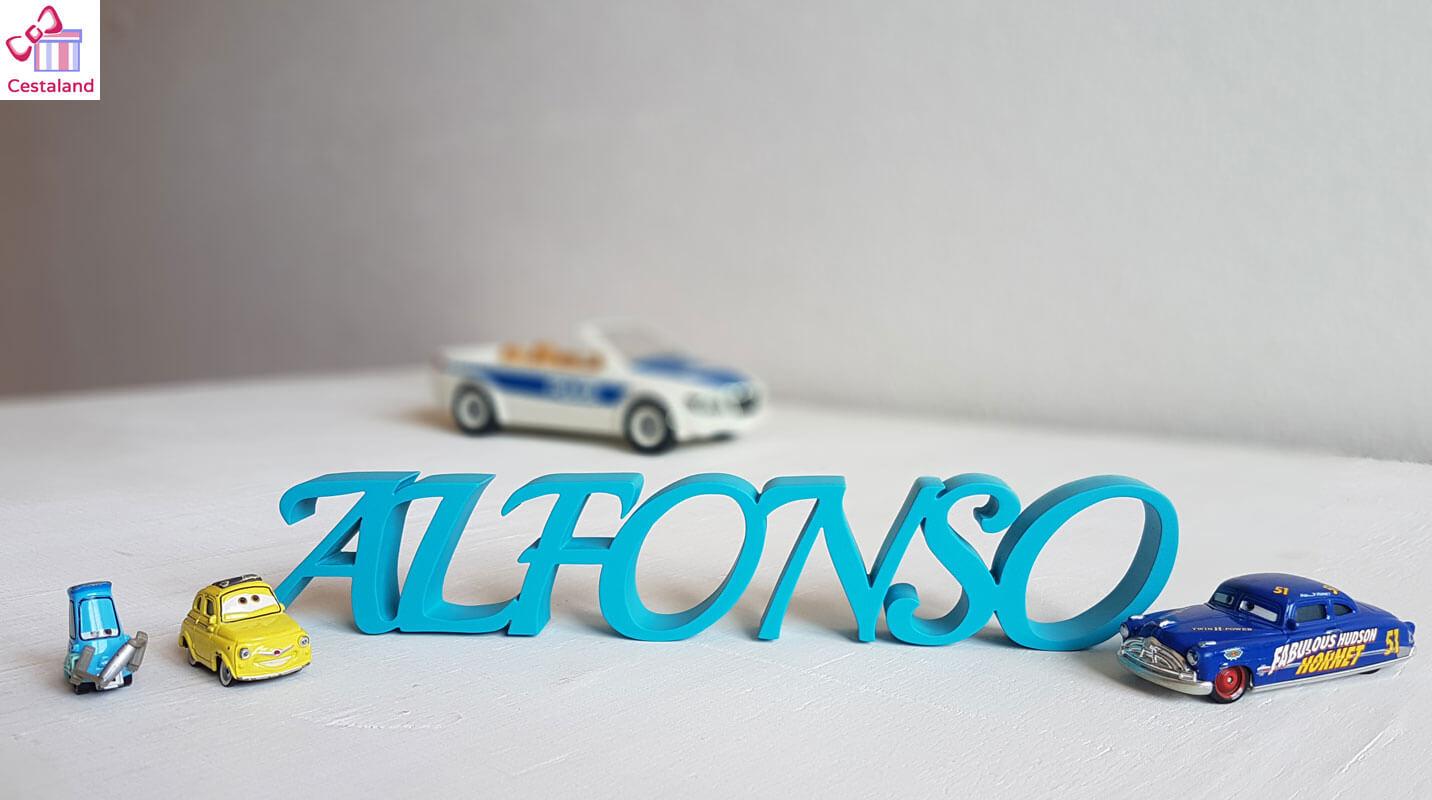 letrero sobremesa Alfonso