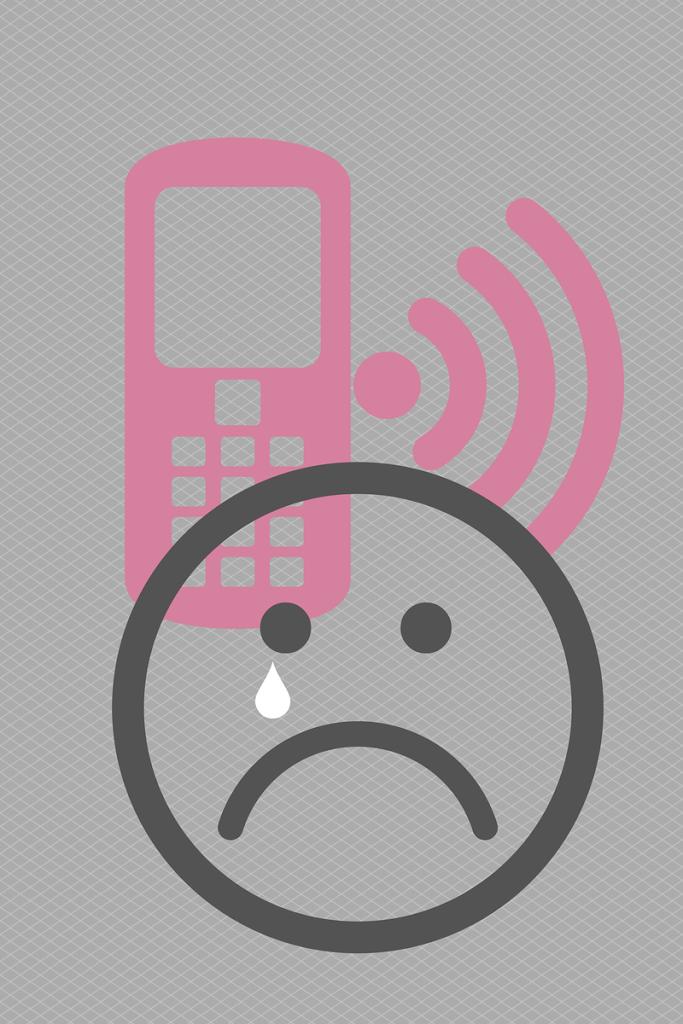 celos de niños del teléfono móvil