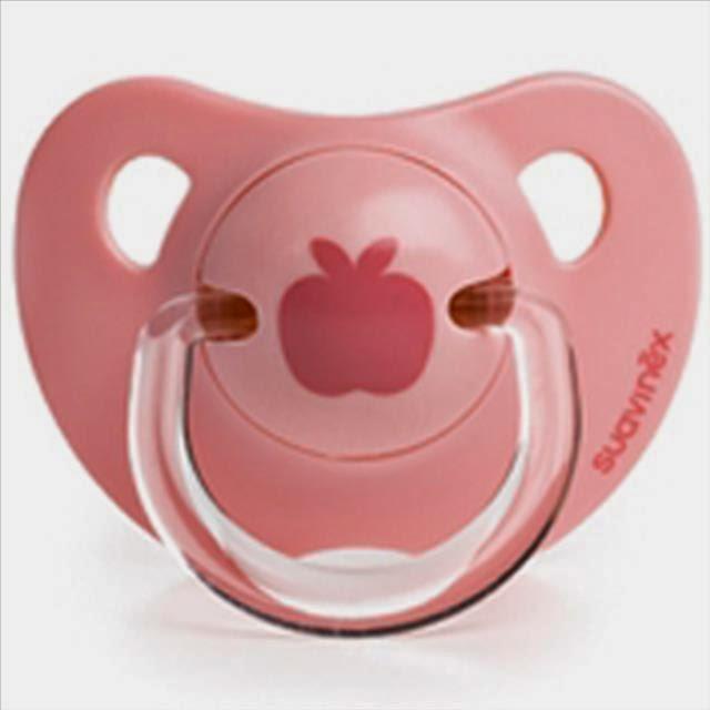 chupete anatómico rosa